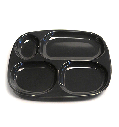 The Living Factroy Retro Divided Tray Navy 더리빙팩토리 레트로식판 할인