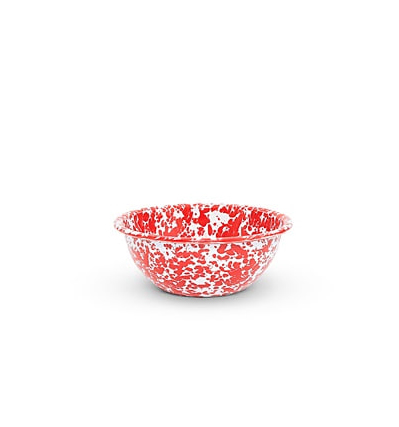 CrowCanyonHome Cereal Bowl Red Marble 크로우캐년홈 시리얼 보울