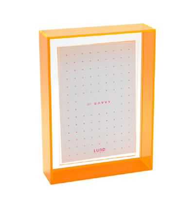 Flash Blocco 7x5 Floating Frame Orange