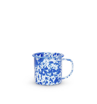 CrowCanyonHome Small Mug Blue Marble