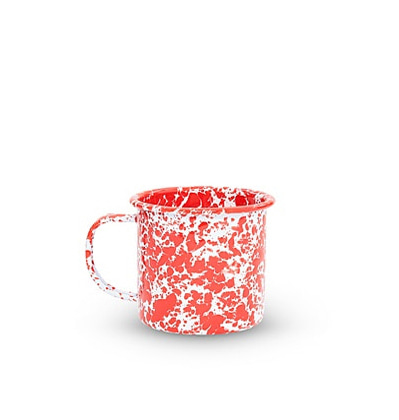 크로우캐년 머그 레드 CrowCanyonHome Mug Red Marble