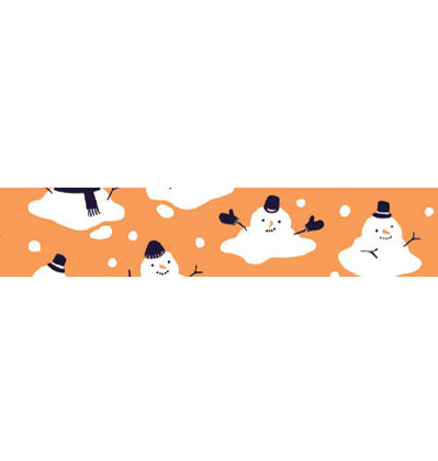 크리스마스 막스 마스킹테이프 Mark's Masking tape Christmas Multi orange