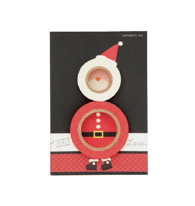 크리스마스 막스 마스킹테이프 Mark's MASTE Christmas petit gift set - Santa