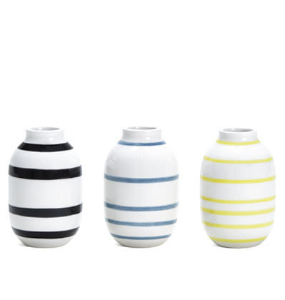 케흘러 오마지오 베이스 Kahler Omaggio Miniature Vase 3-pack mix1