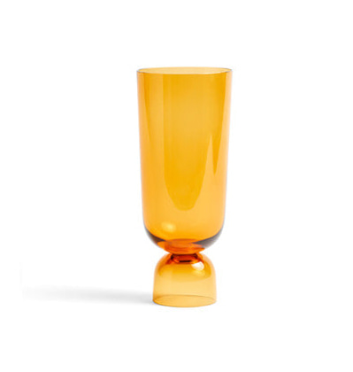 헤이 보텀업 화병 HAY Bottoms Up Vase L Amber