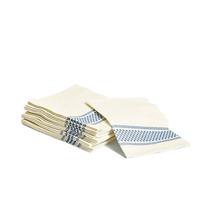 헤이 냅킨 HAY Biodegradable napkins Blue set of 20